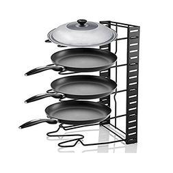 Pot Organizer,Cookware Pan Organizer Holder Rack,Heavy Duty