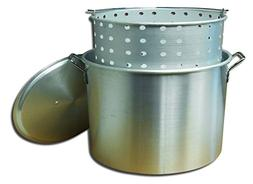 Stock Pot and Basket with Lid - Size: 100 Quart
