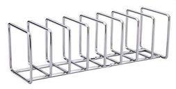 Pot Rack Lid Organizer Storage Shelf and Stainless Steel Pla