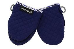 Cuisinart Quilted Mini Kitchen Oven Mitts/Gloves w/Silicone