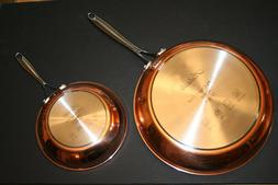 Artaste Rain 2 Piece Clad Induction Frying Pan Set