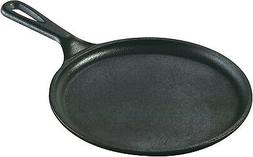 Lodge Seasoned Cast Iron 8.38 Inch Round Griddle