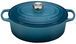 Le Creuset Signature Enameled Cast-Iron 5-Quart Oval French