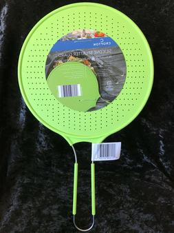Silicone Splatter Guard Green Cooking Lid Skillet Frying Pan