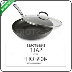Simply Calphalon Nonstick 12-In. Omelette Pan With Cover