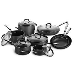 Simply Calphalon Nonstick Hard-Anodized 14-Piece Cookware Se