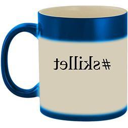 #skillet - 11oz Ceramic Color Changing Heat Sensitive Coffee