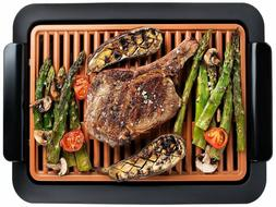 Gotham Steel Smokeless Electric Grill - Nonstick & Portable,