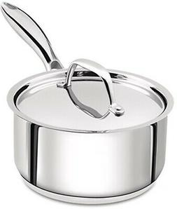 Utopia Kitchen Stainless Steel 2quart sauce pan w/cover