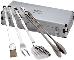 All-Clad Stainless Steel BBQ Tool Set With Carrying Case