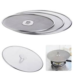 stainless steel cover lid oil proofing frying
