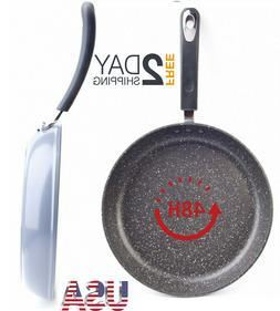 Stone Earth Frying Pan by Ozeri, with 100% APEO & 8''-10''-1