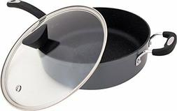 The Stone Earth All-In-One Sauce Pan by Ozeri, with 100% APE