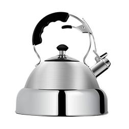 Tea Kettle Stovetop Whistling Teakettle Stainless Steel - La