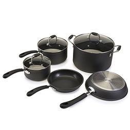 Ecolution Symphony Non-Stick 8 Piece Heavy Forged Aluminum P