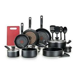 T-Fal 17pc Simply Cook Prep and Cook Set Black