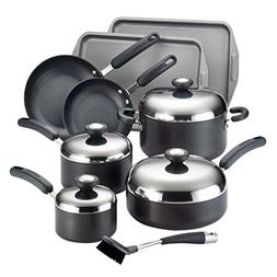 Circulon Total Hard Anodized Nonstick 13-Piece Cookware Set