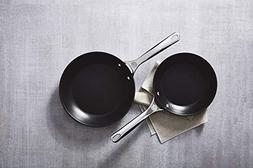 "Le Creuset TNS6002 2 Piece Toughened Nonstick Fry Pan Set 8"""