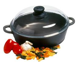 Berndes 674049 Tradition Sauté Casserole Pan with Glass Lid