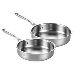 tri ply stainless steel frying
