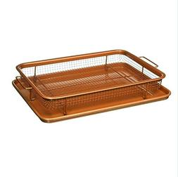 Copper Crisper Oven Air Fryer – Non Stick Crisper Tray Cop