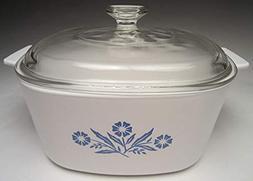 Corningware Vintage Cornflower Blue 3 QT Casserole With Lid