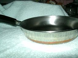 Vintage Revere Ware Copper Clad 9 Inch Saucepan Skillet USA