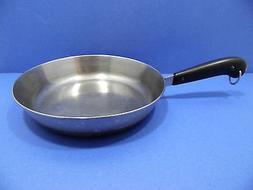 Vintage Revere Ware HEAVY BOTTOM 10 Inch Skillet / Saucepan