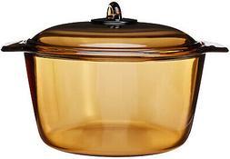 Luminarc Vitro Blooming Heat-resistant Glass Cooking Pot
