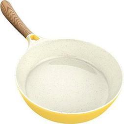 Vremi Ceramic Nonstick Frying Pan - Large 1.7 Quart With Bak