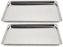 Vollrath 2-Piece Wear-Ever Half-Size Sheet Pans Set, 18-Inch
